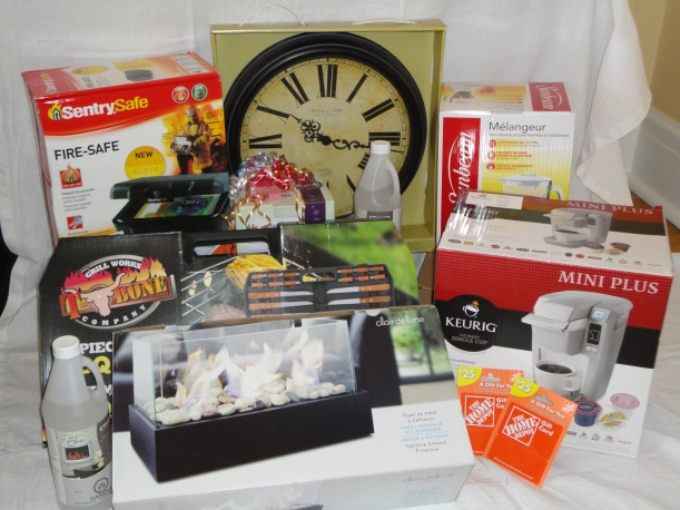 Home and Garden show prizes