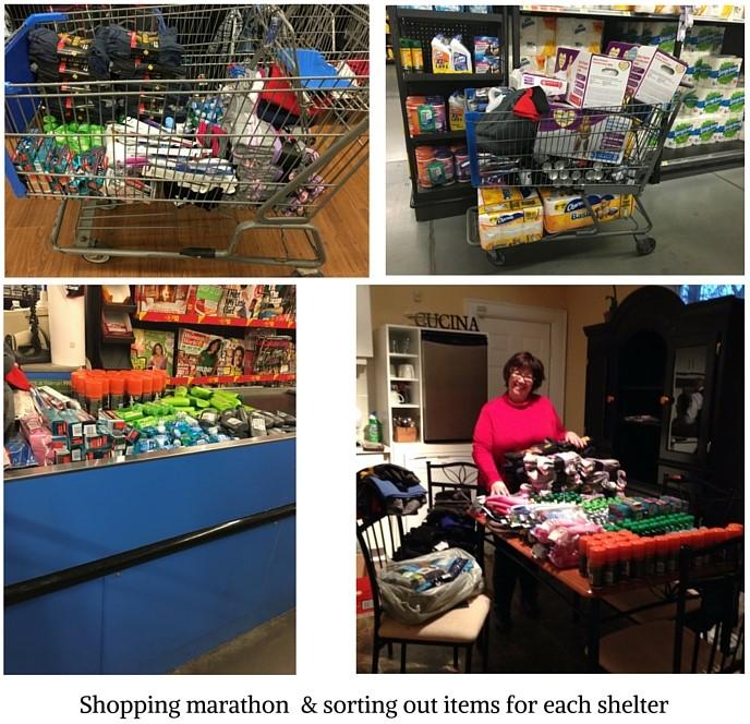 Shopping marathon